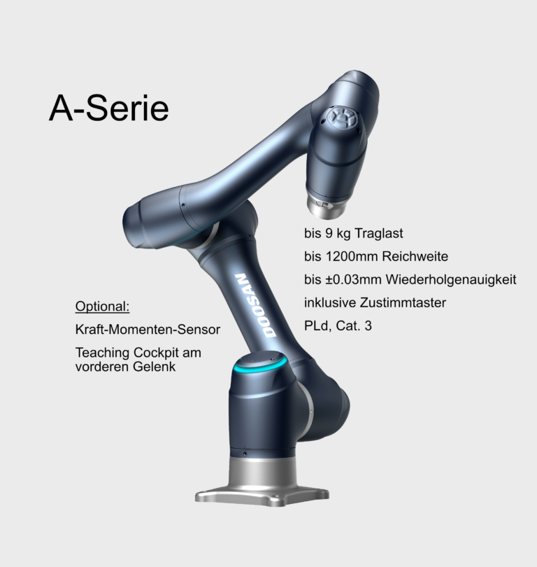 Doosan Robotic A-Serie als Alternative zu UR