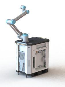 Mobiler Roboterwagen für UR Doosan